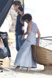 Kristen Stewart - On the Set of