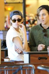 Kristen Stewart - Out With Friend in Los Feliz, February 2015