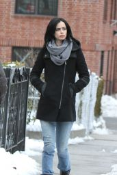Krysten Ritter - On the Set of A.K.A. Jessica Jones in New York City