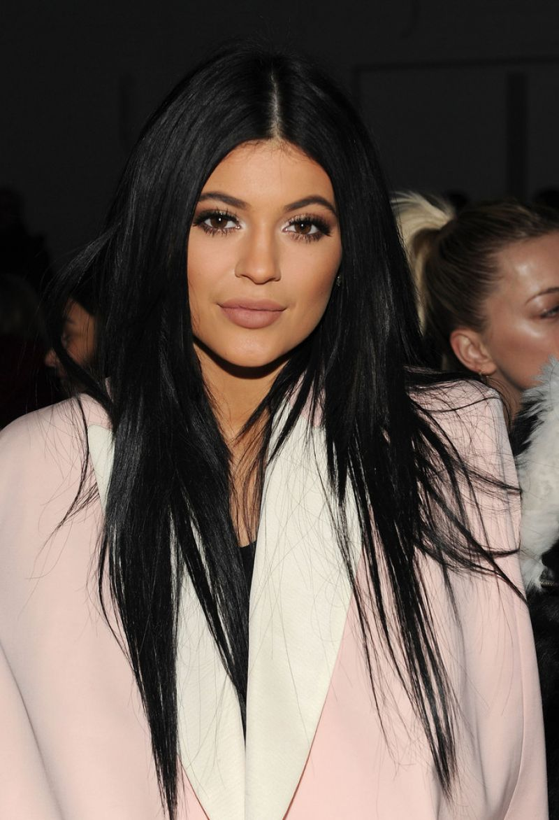 Kylie Jenner Arrives On The Red Carpet At Our Balmain X H: 3.1 Phillip Lim Fashion Show In New York