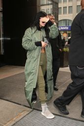 Kylie Jenner - Leaving the Trump Hotel in New York City, Feb. 2015
