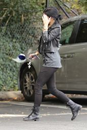 Kylie Jenner Street Style - Out for lunch in Calabasas, February 2015