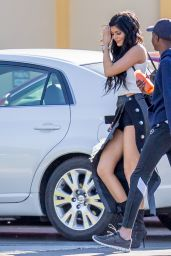Kylie Jenner Style - at Sugarfish Sushi in Calabasas, Feb. 2015