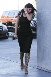 Kylie Jenner Style - Out in West Hollywood, February 2015