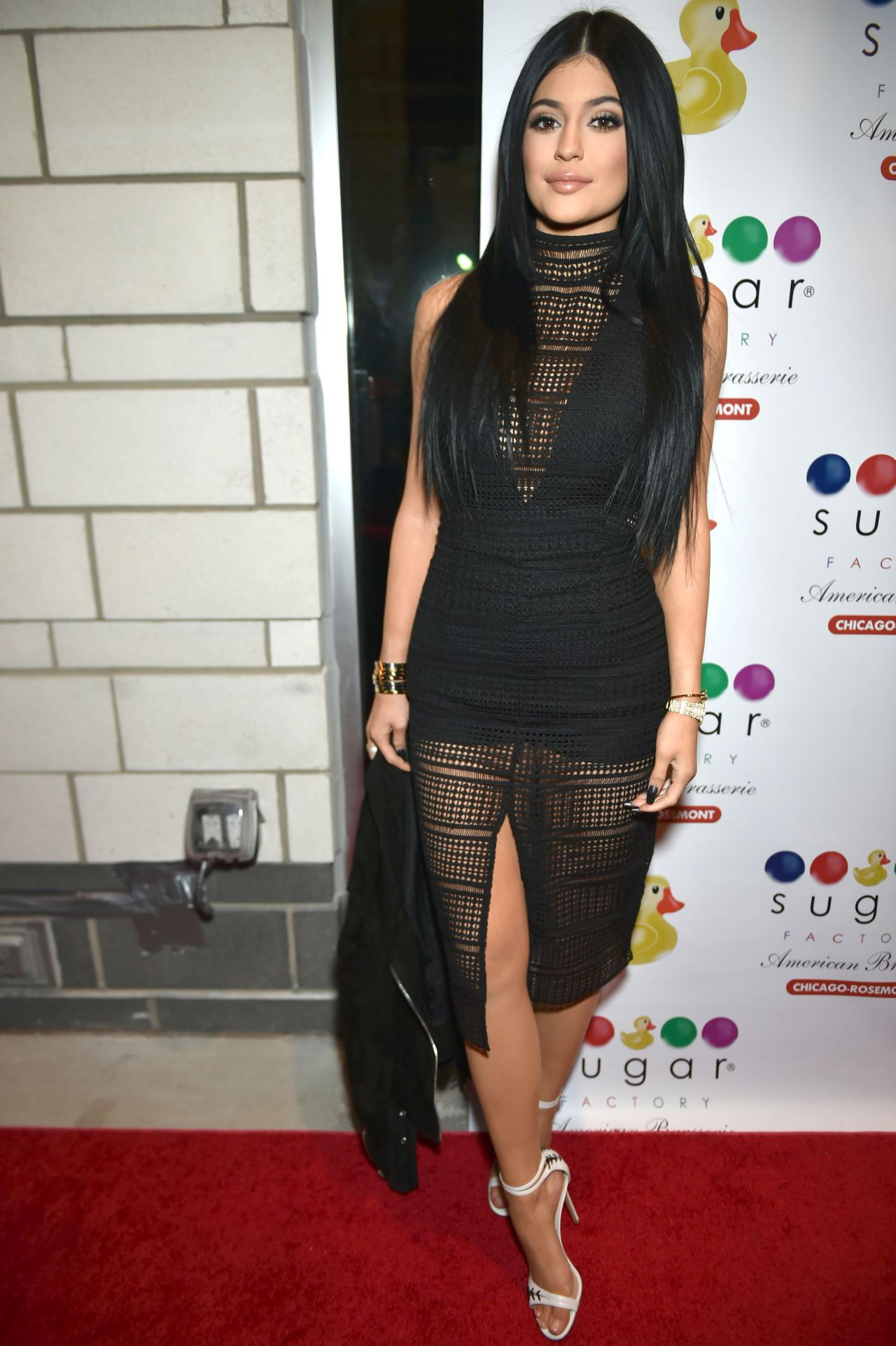 Kylie Jenner - Sugar Factory American Brasserie Grand Opening in Chicago