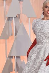 Lady Gaga - 2015 Oscars Red Carpet in Hollywood