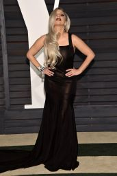 Lady Gaga - 2015 Vanity Fair Oscar Party in Beverly Hills