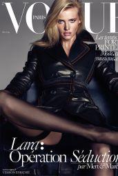 Lara Stone - Vogue Paris Magazine March 2015 Cover