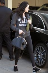 Laura Prepon in Leggings - Out in Los Angeles, Febraury 2015