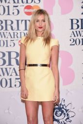 Laura Whitmore – 2015 BRIT Awards in London