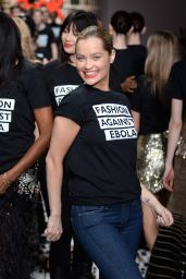 Laura Whitmore – Fashion For Relief Charity Fashion Show in London, February 2015