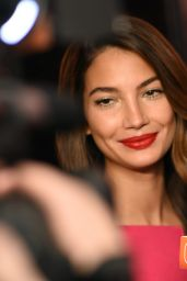 Lily Aldridge at Victoria's Secret in New York City, Feb. 2015
