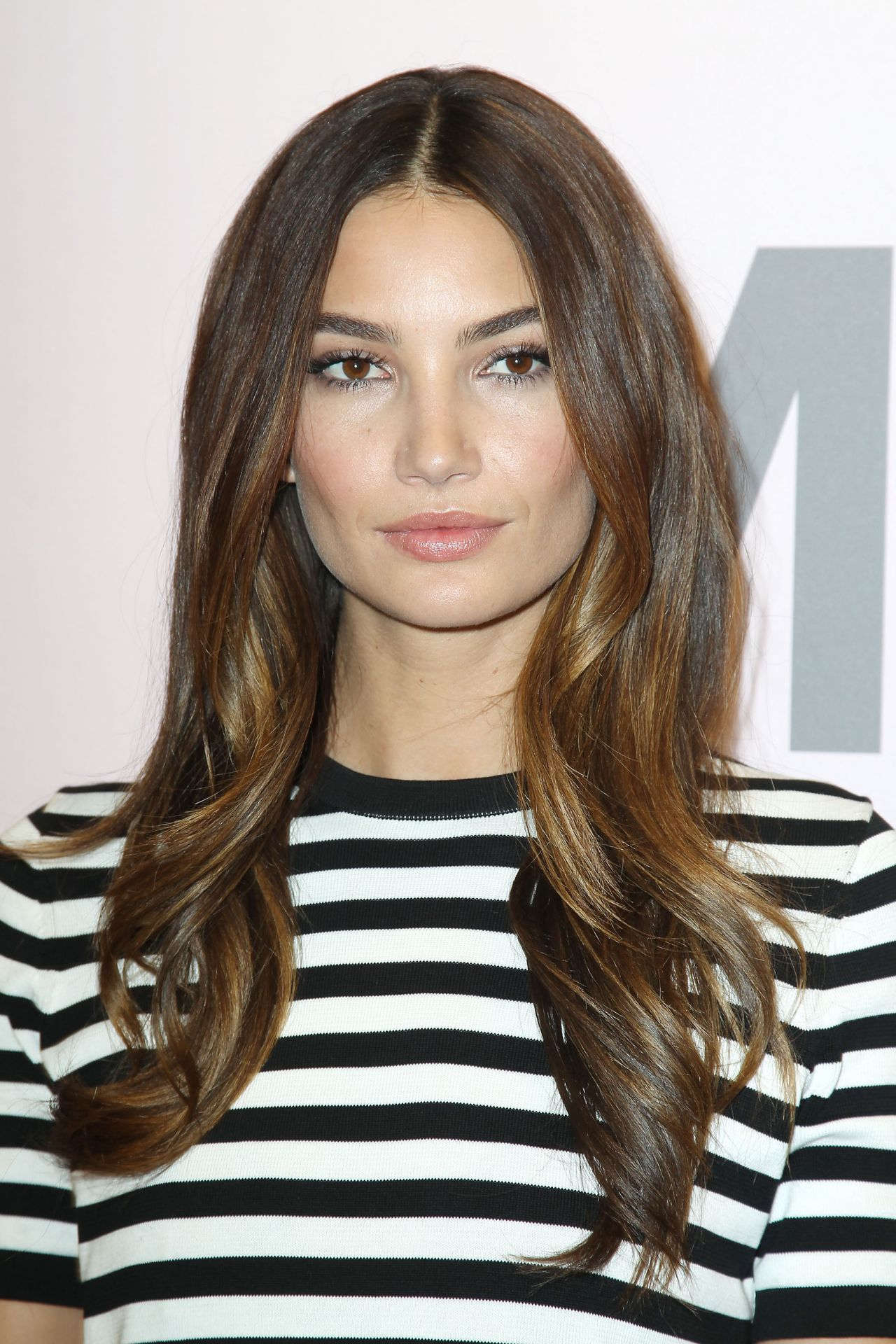 Lily Aldridge - Michael Kors New Miranda Eyewear Collection Launch - New York, Feb. 2015