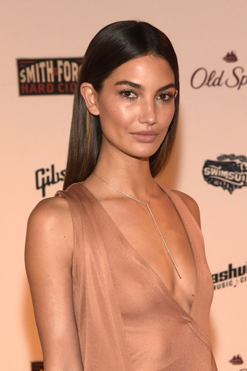 Lily Aldridge – SI Swim 2015 Event in Nashville