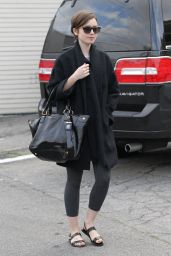 Lily Collins - Out in West Hollywood, Febraury 2015