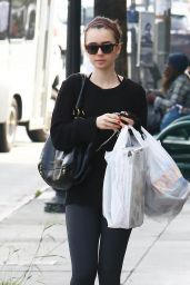 Lily Collins - Shopping in West Hollywood, February 2015