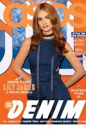 Lily James - ASOS Magazine April 2015 Issue