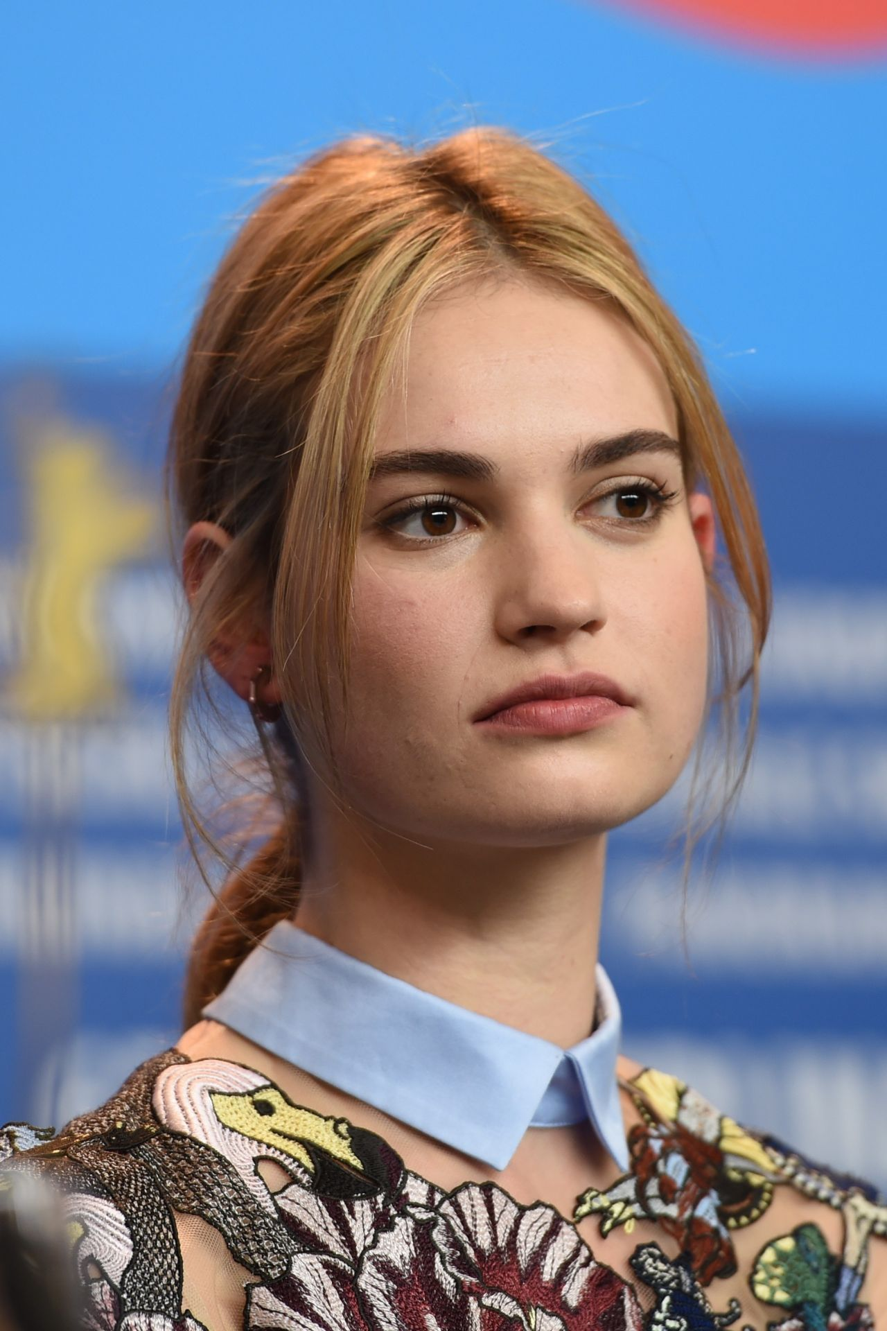 Lily James Cinderella Photocall At 2015 Berlin Film