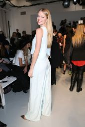 Lindsay Ellingson - Misha Nonoo Fashion Show in New York, February 2015