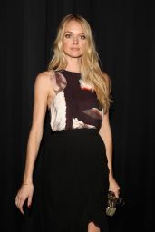 Lindsay Ellingson - Rebecca Minkoff Fashion Show in NYC, February 2015