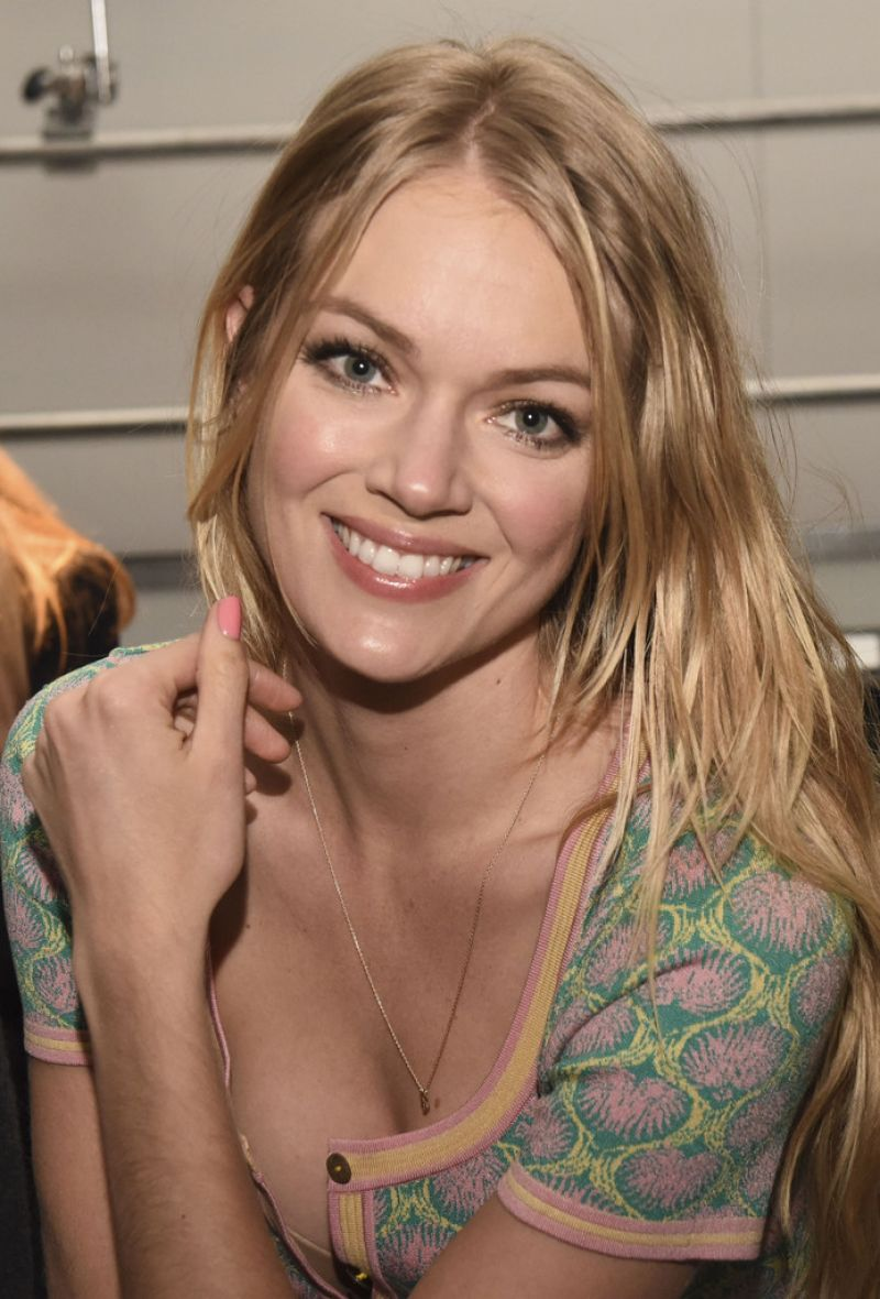 Lindsay Ellingson - Sophie Theallet Fashion Show in New York, February 2015