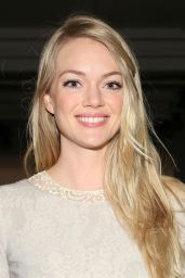 Lindsay Ellingson - Wes Gordon Fashion Show in New York City, Feb. 2015