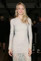 Lindsay Ellingson - Wes Gordon Fashion Show in New York City, Feb. 2015