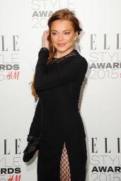 Lindsay Lohan - 2015 Elle Style Awards in London