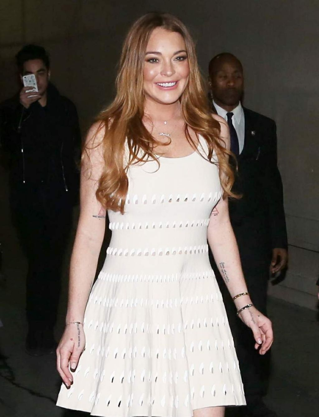 Lindsay Lohan - Outside at