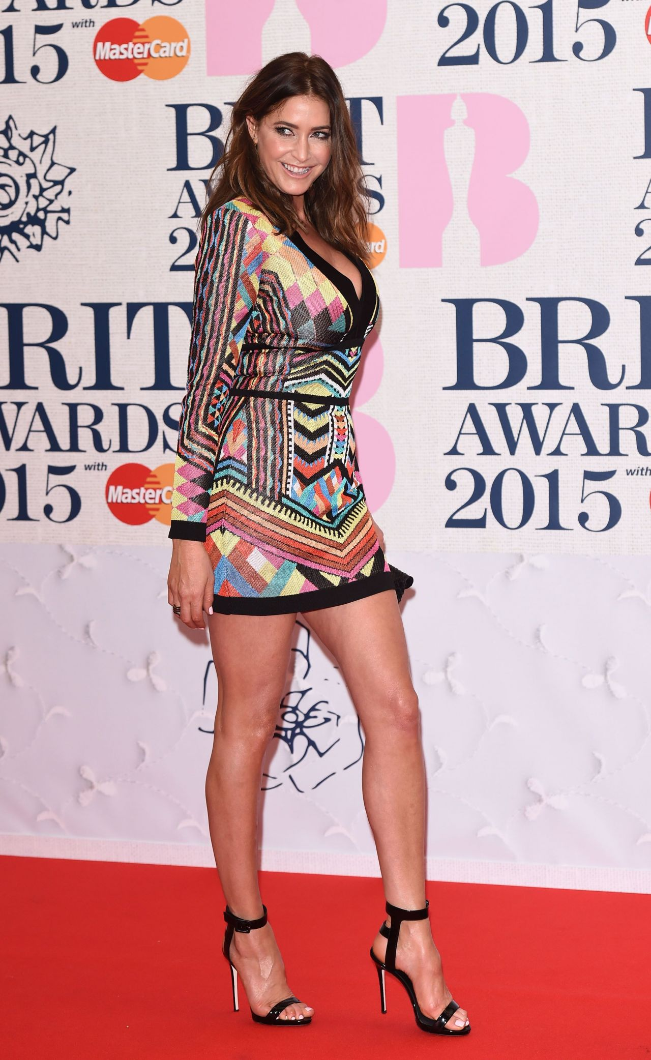 Lisa Snowdon - BRIT Awards 2015 in London