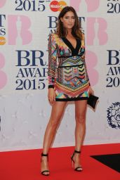 Lisa Snowdon - BRIT Awards 2015 in London