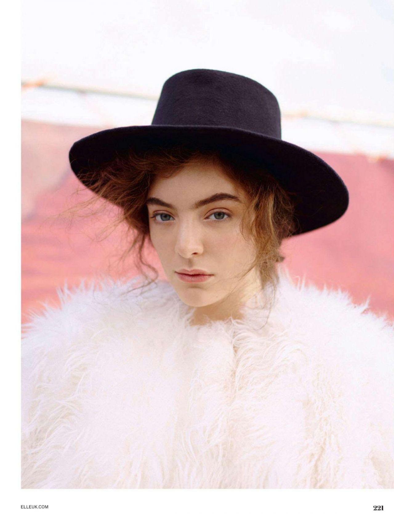Celeb Photos: Lorde ELLE UK March 2015 - Classic ATRL Lorde Photoshoot 2013