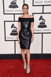 Louise Roe – 2015 Grammy Awards in Los Angeles