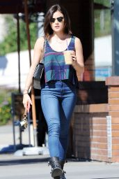 Lucy Hale Booty in Jeans - Out in Studio City, February 2015