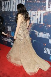 Lucy Liu – 2015 SNL Celebration At Rockefeller Plaza In New York City
