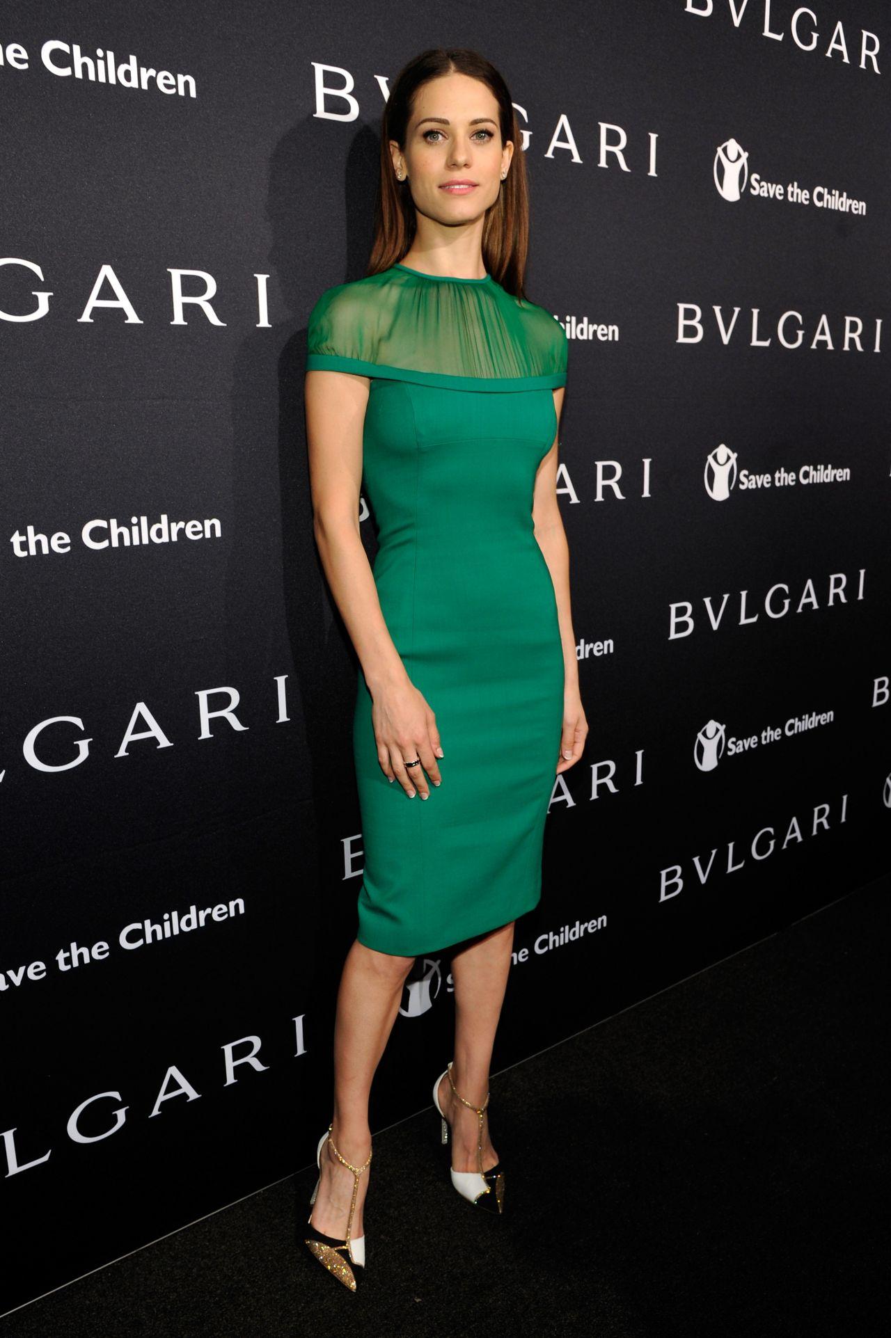 Lyndsy Fonseca Bvlgari And Save The Children Pre Oscar