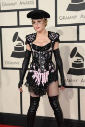Madonna – 2015 Grammy Awards in Los Angeles