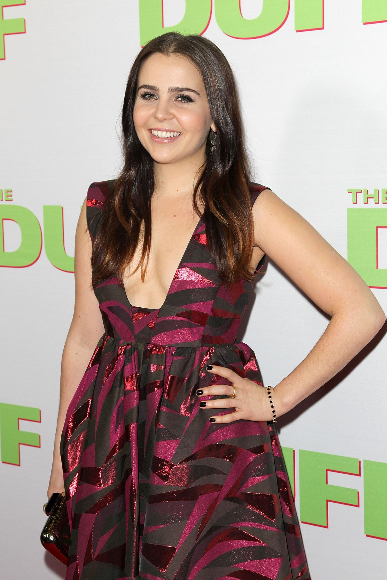 Mae Whitman The Duff Fan Screening In Los Angeles