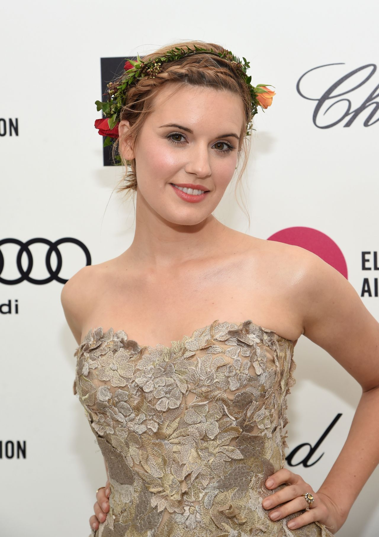 Maggie Grace – 2015 Elton John AIDS Foundation's Oscar Viewing Party in Hollywood