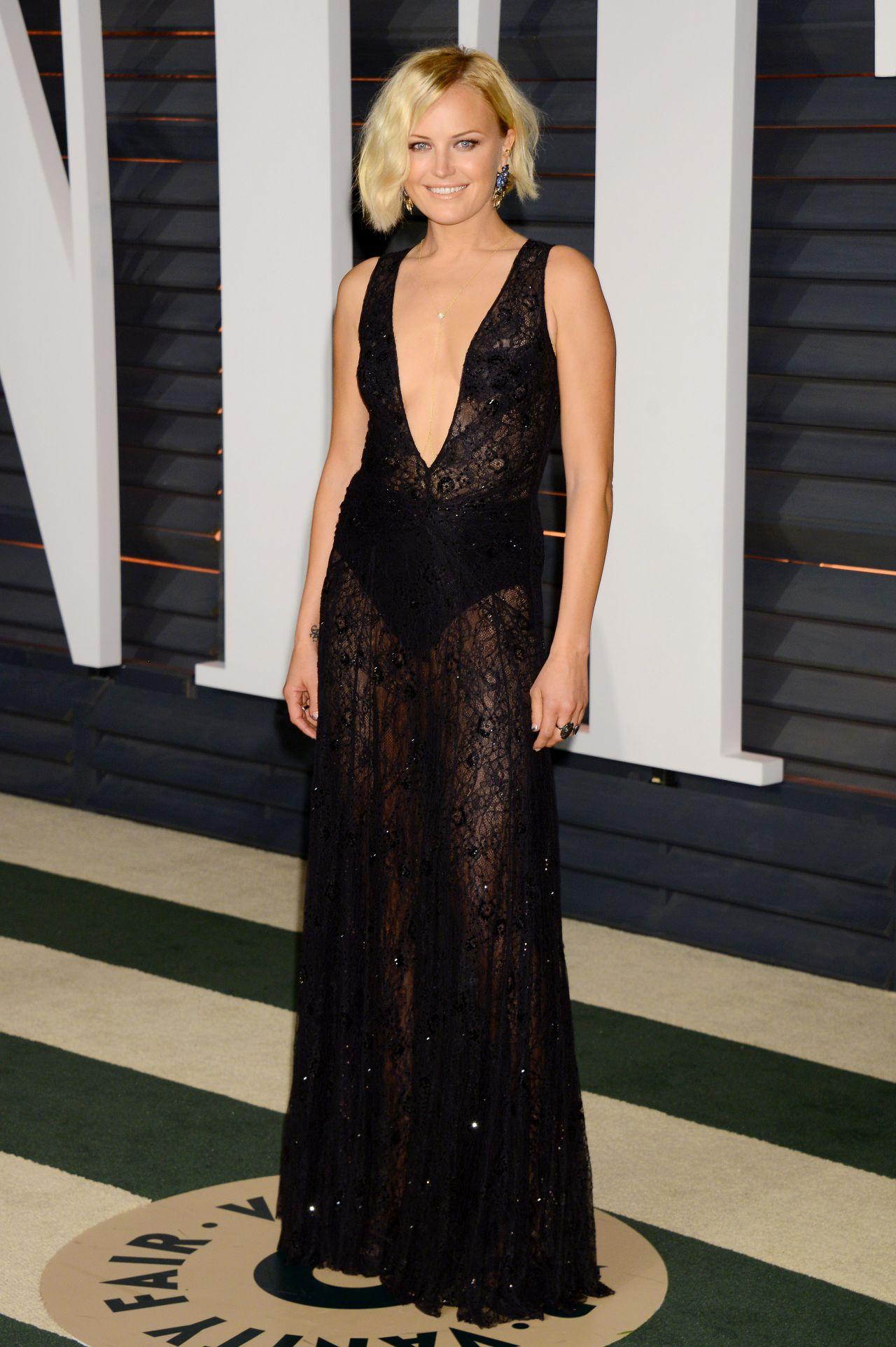 Malin Akerman – 2015 Vanity Fair Oscar Party in Hollywood