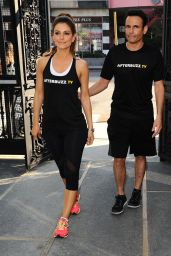 Maria Menounos at Cycle House in Los Angeles, February 2015