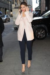 Maria Menounos Style - Out in New York City, Feb. 2015
