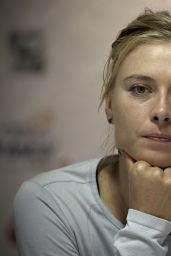 Maria Sharapova at Press Conference - Abierto Mexicano Telcel Tennis Tournament in Acapulco