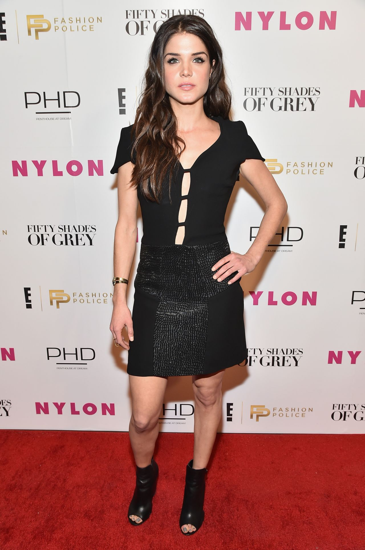 Marie Avgeropoulos - NY Fashion Week Kickoff With Fifty Shades Of Fashion Event in New York