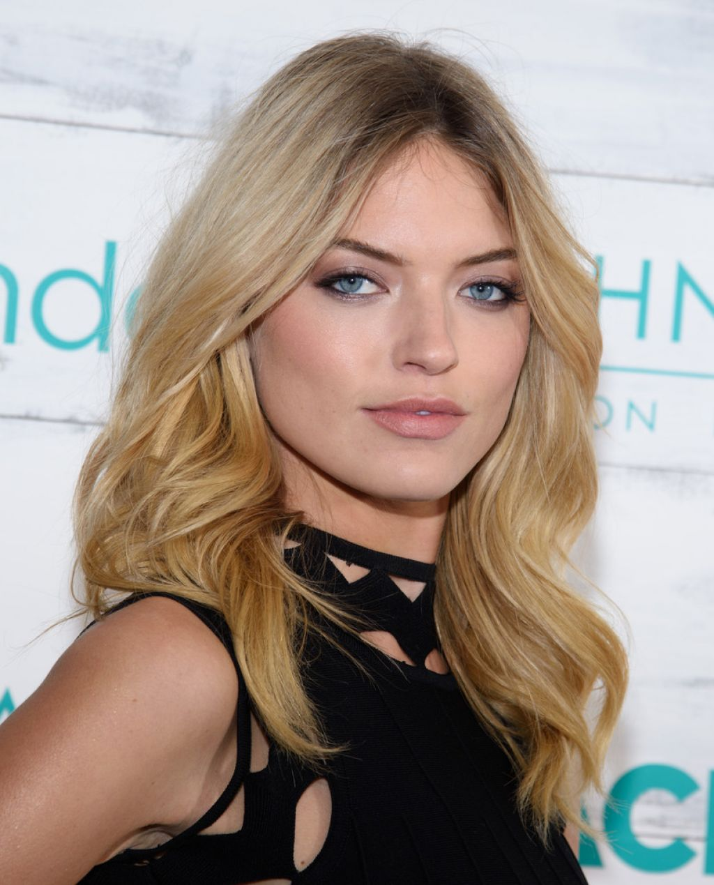 Martha Hunt - John Frieda Hair Care Beach Blonde Collection Party in New York City, Feb. 2015