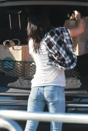 Megan Fox Booty in Jeans - Shopping at Whole Foods in Studio City, Feb. 2015