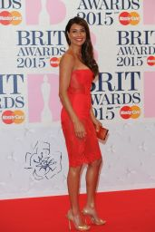 Melanie Sykes - 2015 BRIT Awards in London