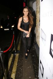 Michelle Heaton Style - Arrives for Now Wow Charity Event in London, Jan. 2015