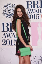 Michelle Keegan – 2015 BRIT Awards in London