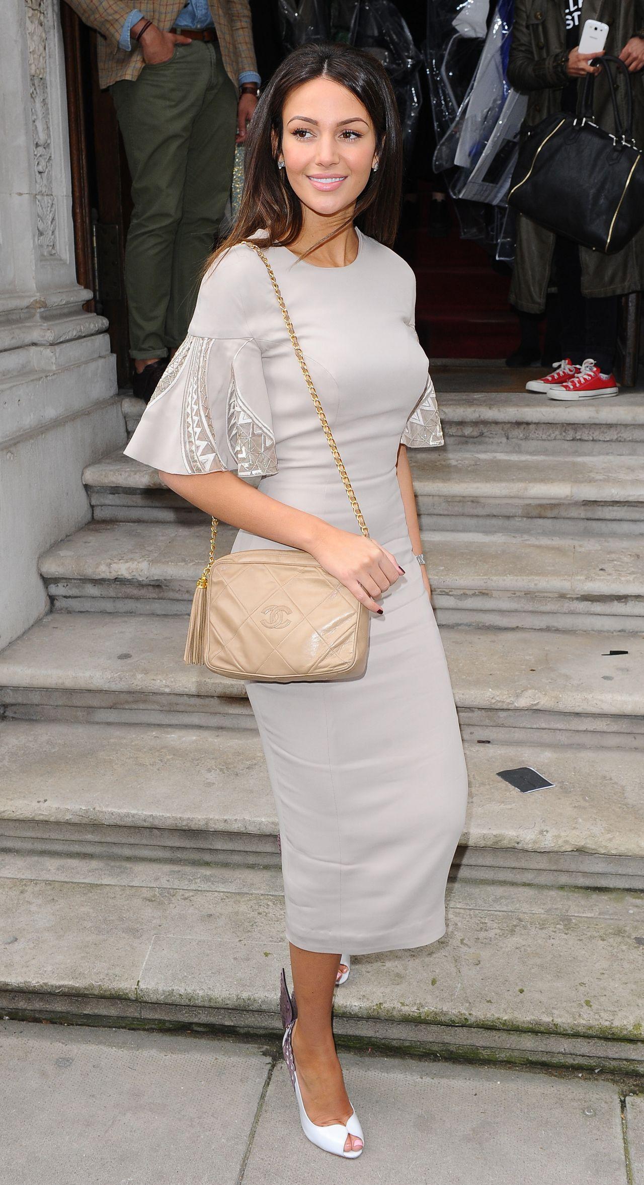 Michelle Keegan at Julien Macdonald Show - London Fashion Week, February 2015